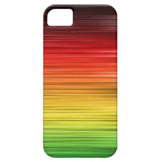 Rasta alineó la caja de la casamata de Iphone 5 iPhone 5 Carcasas