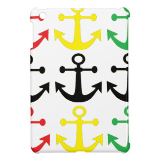 Rasta Anchors iPad Mini Covers
