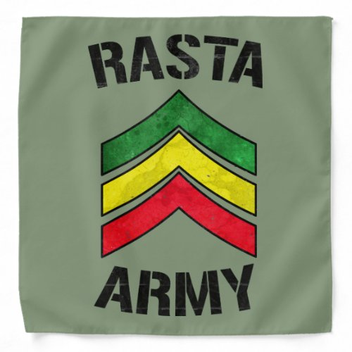 Rasta army bandana