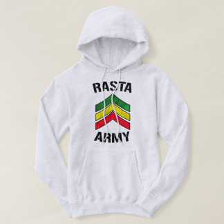 Rasta army hoodie