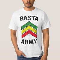 Rasta army T-Shirt