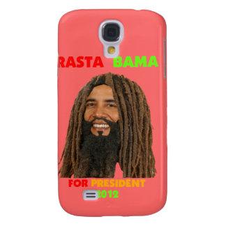 Rasta Bama, presidente Obama en Dreadlocks Funda Para Galaxy S4