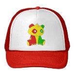 Rasta Big Panda Hat