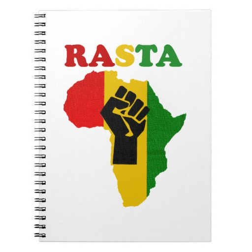 Rasta Black Power Africa Notebook
