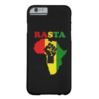 Rasta Black Power Fist over Africa iPhone 6 case