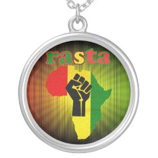 Rasta Black Power over Africa Necklace