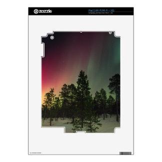 Rasta Borealis Decals For iPad 2