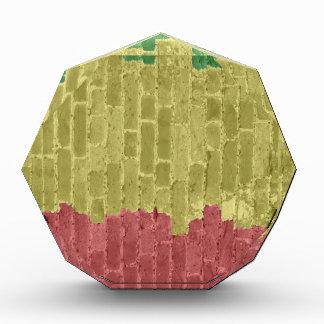 Rasta Brick Acrylic Award