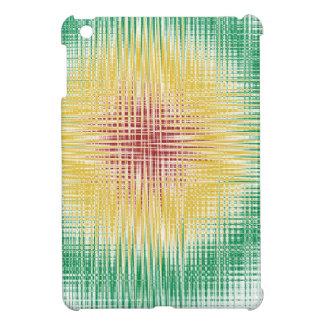 Rasta Bullseye Lines Cover For The iPad Mini