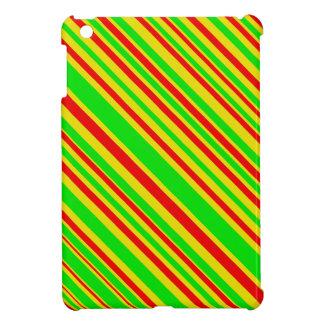 Rasta Candy Stripes iPad Mini Cover