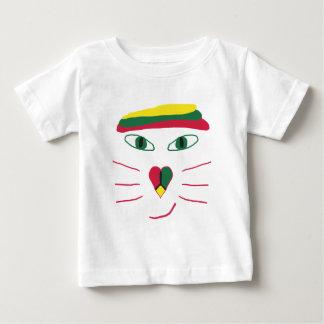 Rasta Cat Baby T-Shirt