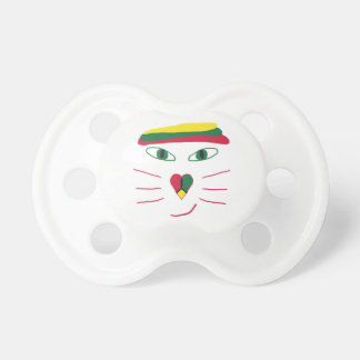 Rasta Cat Pacifier