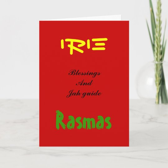 Rasta christmas greeting cards zazzle rasta christmas greeting cards m4hsunfo