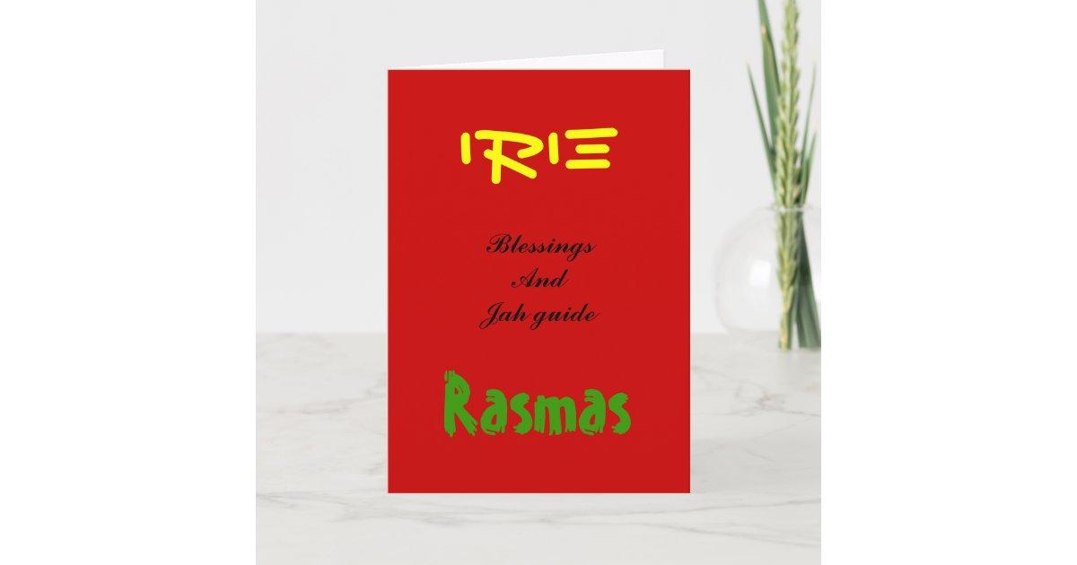 Rasta christmas greeting cards zazzle m4hsunfo