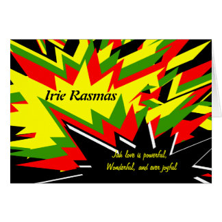 Rasta Christmas Cards - Invitations, Greeting & Photo Cards | Zazzle