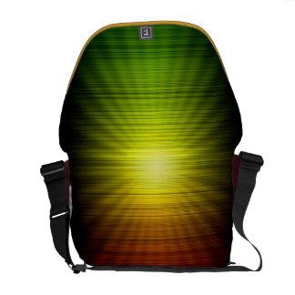 Rasta colorea la bolsa de mensajero del carrito bolsa de mensajería