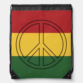 Rasta colorea paz mochilas