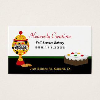 Rasta Colors Bakery Business Card