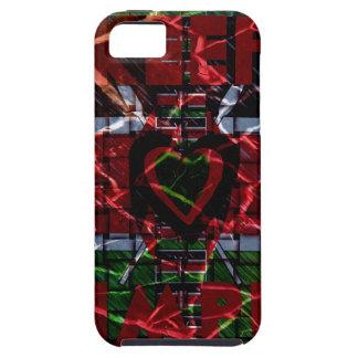 Rasta colors iPhone SE/5/5s case