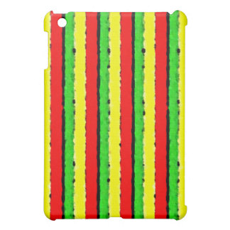 Rasta Colors Jamaica Red Gold and Green iPad Mini Cases