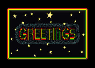Rasta birthday gifts on zazzle rasta colour bold text greetings card m4hsunfo