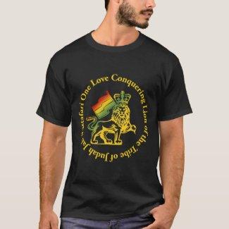Rasta Conquering Lion T-shirt