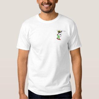 Rasta Cowboy Embroidered T-Shirt