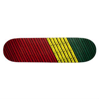 Rasta Custom Skate Board