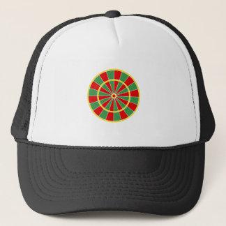 Rasta Dartboard Pattern Trucker Hat