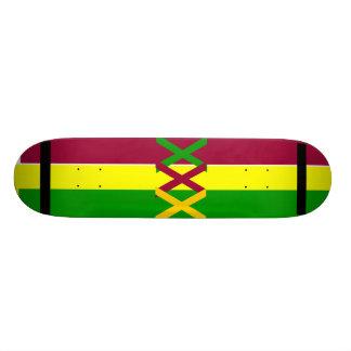 Rasta Deck Skateboard Deck