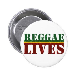 Rasta del reggae de Cori Reith Rasta Pin Redondo De 2 Pulgadas