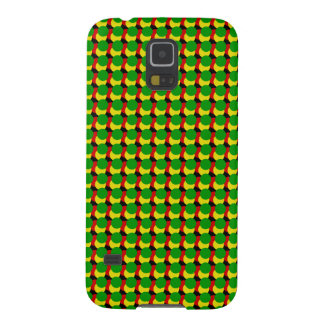 Rasta Dots on Black Case For Galaxy S5