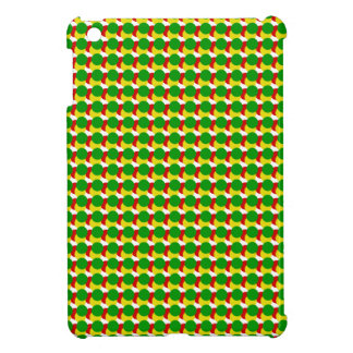 Rasta Dots on White iPad Mini Cases
