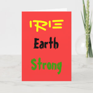 Rasta cards zazzle rasta earthstrong greeting cards m4hsunfo