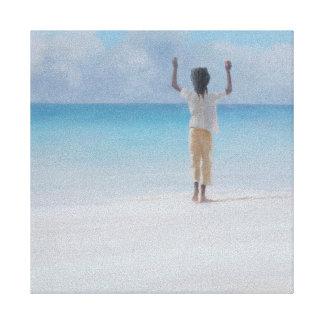 Rasta en la playa 2012 lona envuelta para galerias