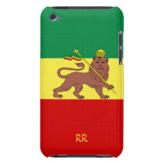 Rasta Flag Ethiopia Reggae Ipod Touch 4g Case at Zazzle