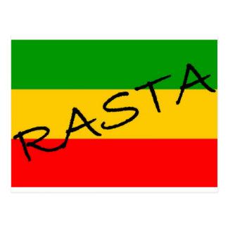 Rasta Flag Postcard