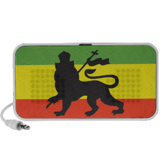 Rasta Flag Notebook Speakers