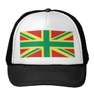 Rasta Flag UK Trucker Hat