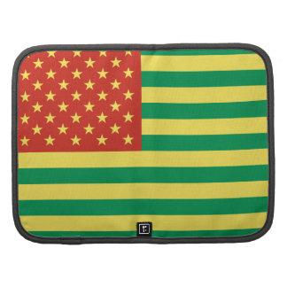 Rasta Flag US Folio Smartphone Sleeve Planner