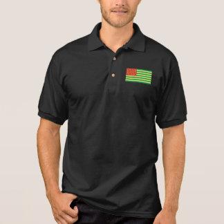 Rasta Flag US Polo Shirt