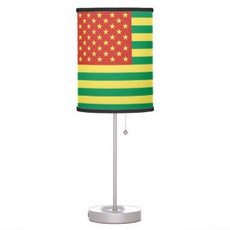 Rasta Flag US Table Lamp