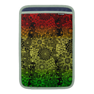 Rasta Flower Sleeve For MacBook Air