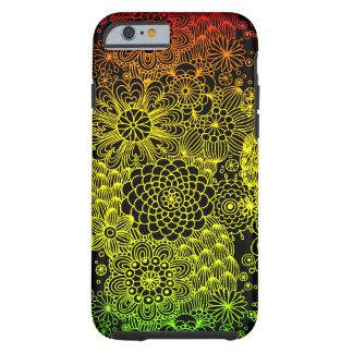 Rasta Flower Tough iPhone 6 Case