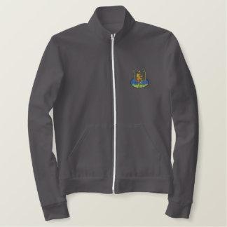 Rasta Football Embroidered Jacket