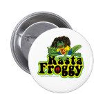 Rasta Froggy Button