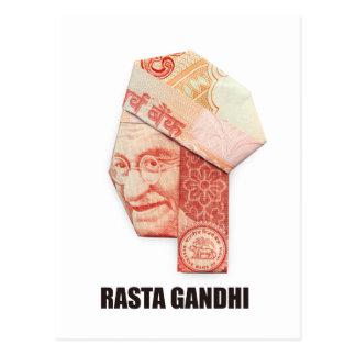 RASTA GANDHI POST CARD