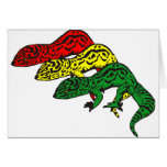 Rasta Geckos Card