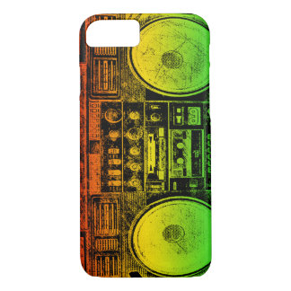 Rasta ghetto blaster iPhone 7 case