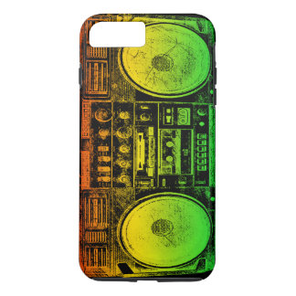 Rasta Ghetto Blaster iPhone 7 Plus Case